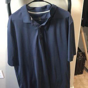 Navy Blue Reebok Golf Shirt